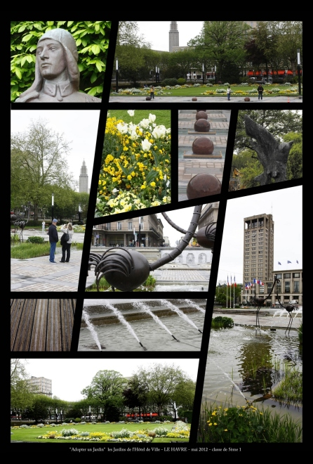 jardins hotel de ville