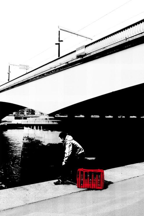 La valise rouge Hugo Miserey