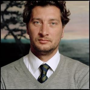 Le peintre Olivier Masmonteil par Hugo Miserey